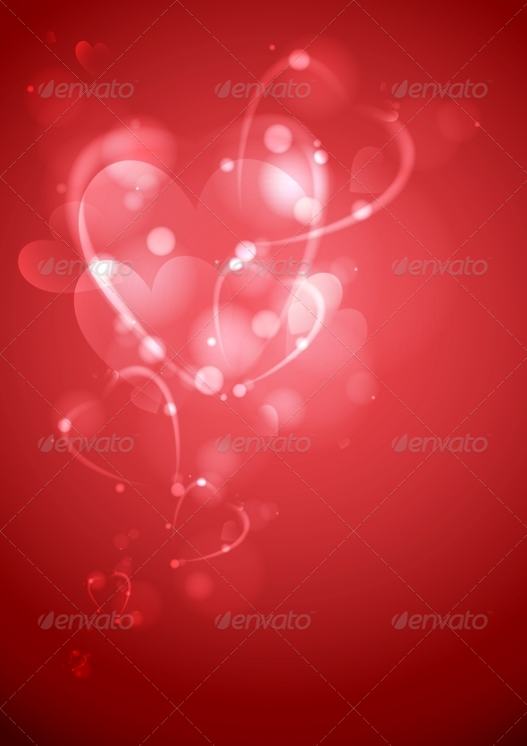 Valentine's Day or Wedding Background - Valentines Seasons/Holidays
