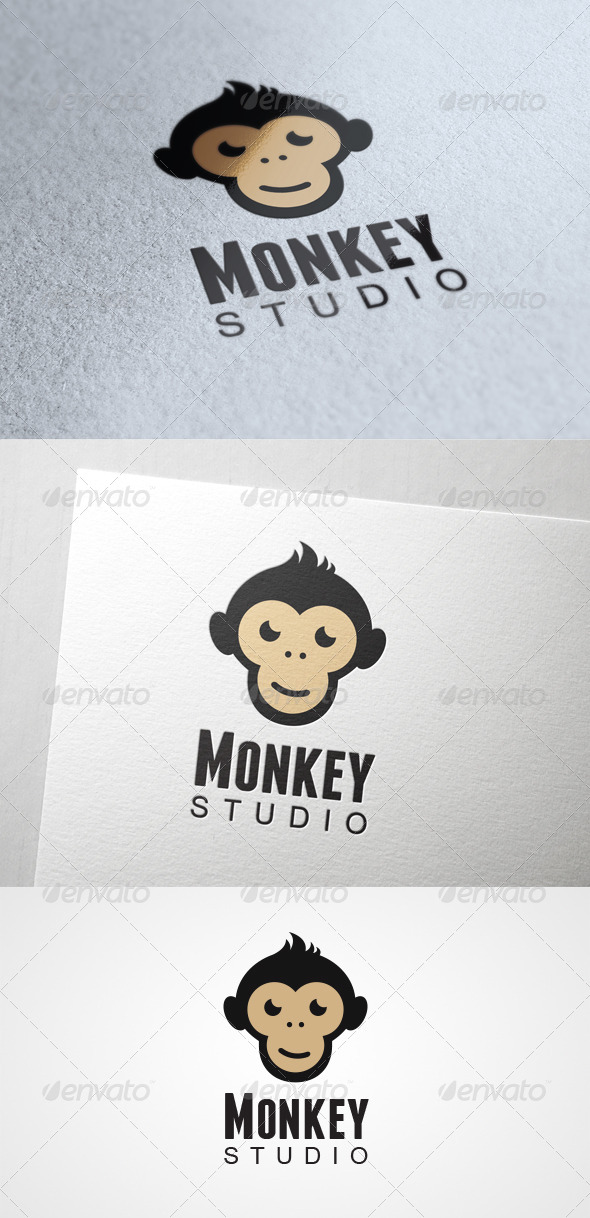 Monkey Studio - Animals Logo Templates