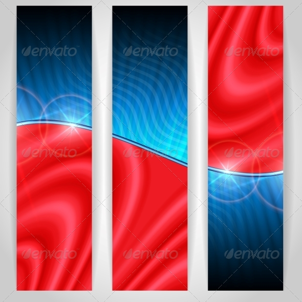Abstract Colorful Banner - Abstract Conceptual