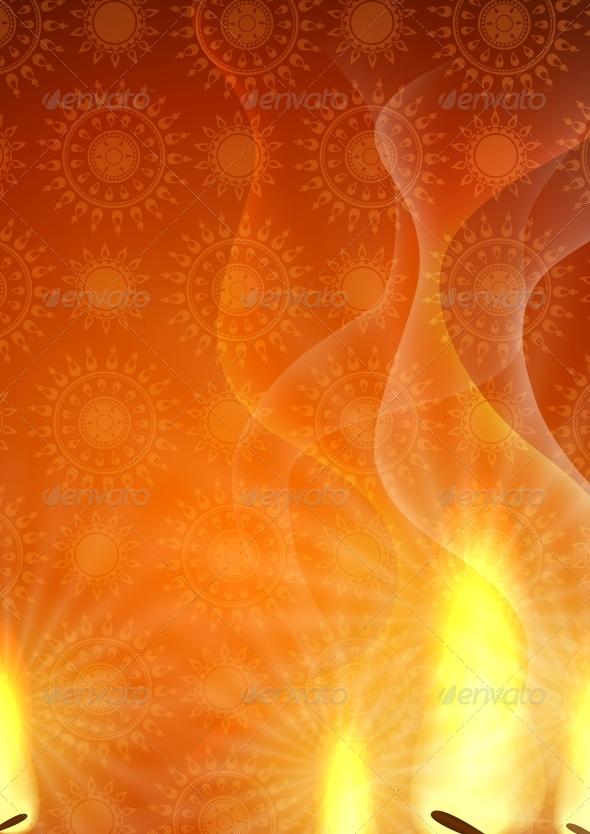 Happy Diwali Background - Religion Conceptual