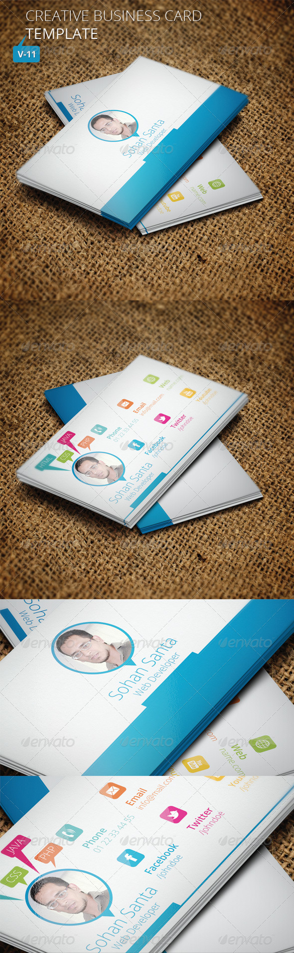 Creative Business Card V 11 - Creative Business Cards
