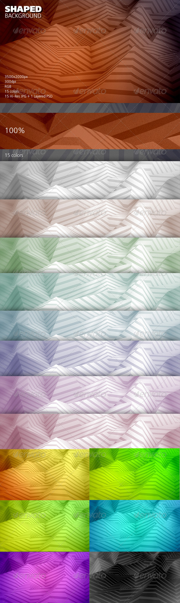 Shaped Background - Abstract Backgrounds