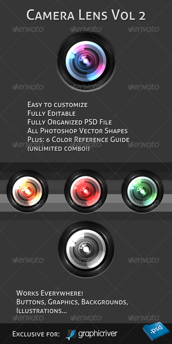 Camera Lens Vol. 2 - Miscellaneous Graphics