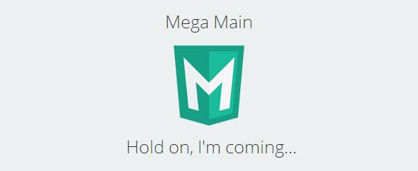 Megamain homepage image
