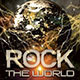 Rock The World Concert Flyer - GraphicRiver Item for Sale