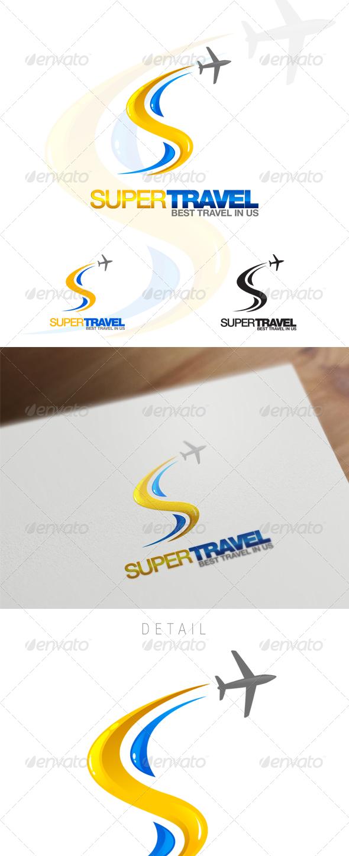 S Letter Travel & Hospitality Logo - Letters Logo Templates