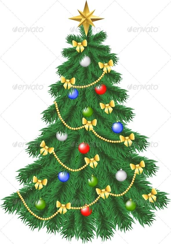 Spruce Christmas Tree - Christmas Seasons/Holidays