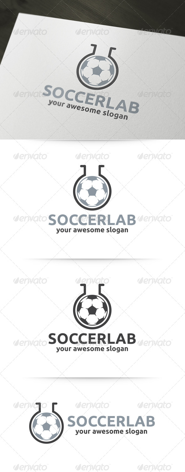 Soccer Lab Logo - Objects Logo Templates