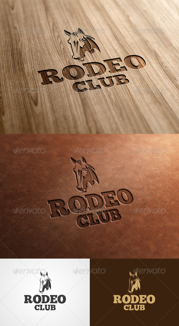 Rodeo Club By Morokey Graphicriver
