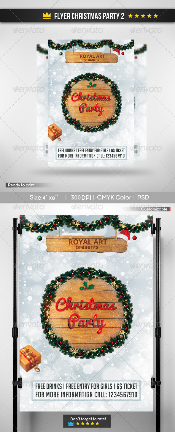 Flyer Christmas Party 2 - Holidays Events
