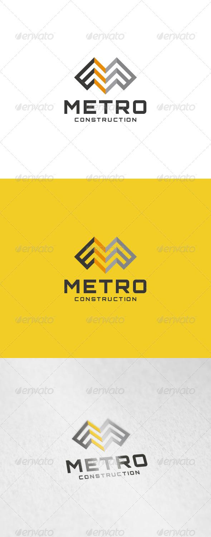Metro Logo - Letters Logo Templates