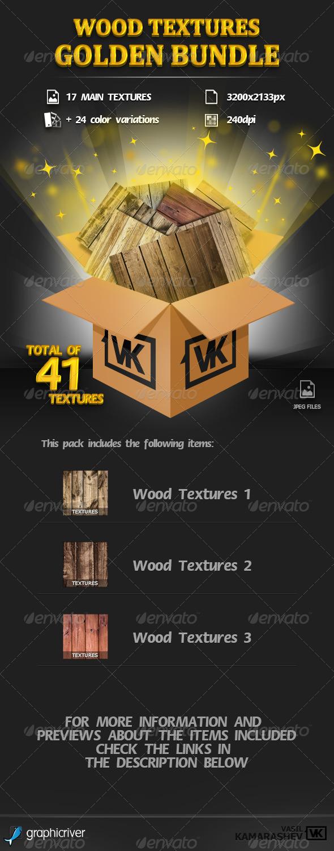 Wood Textures Golden Bundle - Wood Textures