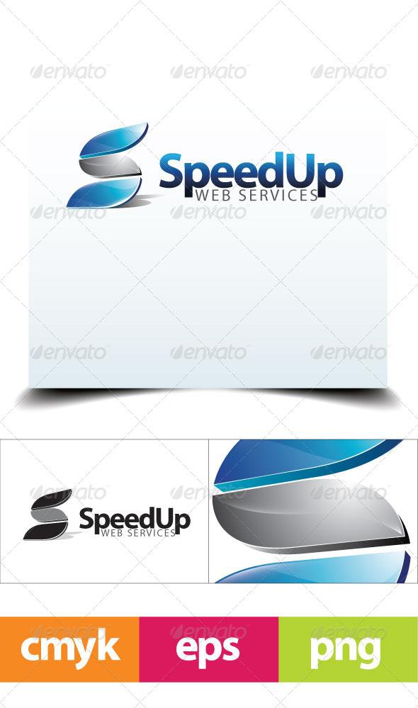 SpeedUp Logo Template - Letters Logo Templates