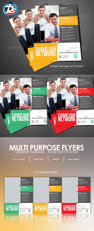 Modern Corporate Flyers - Corporate Flyers