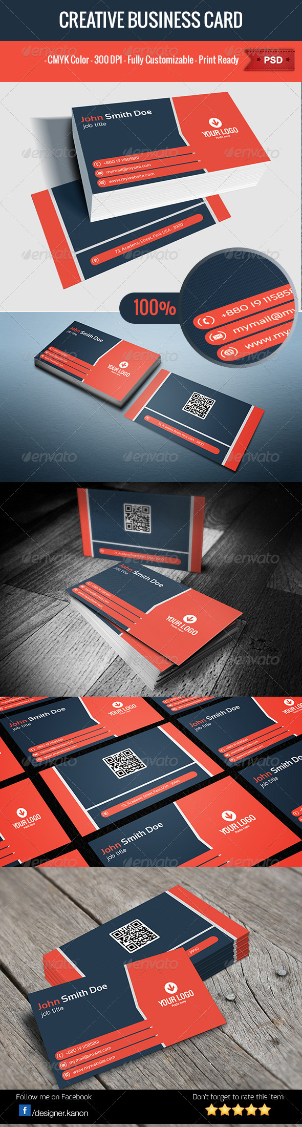 Business Card V6 - Corporate Business Cards