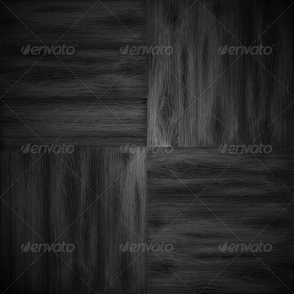 Illustrated Wood Parquet Texture. - Backgrounds Decorative