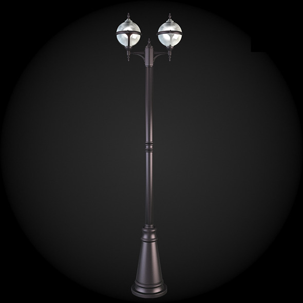 009_Street_Light - 3DOcean Item for Sale