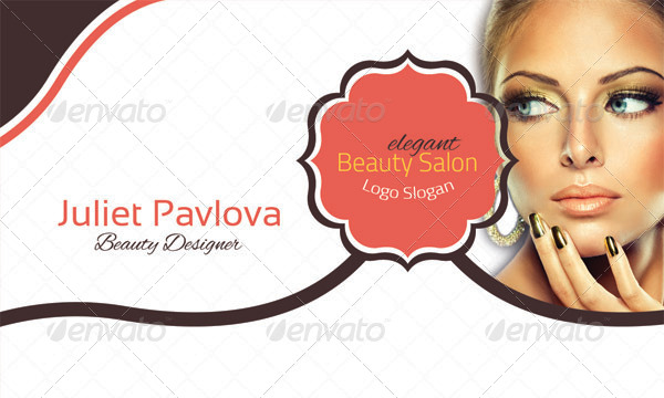 Beauty Salon Business Card By Vectorweb Graphicriver