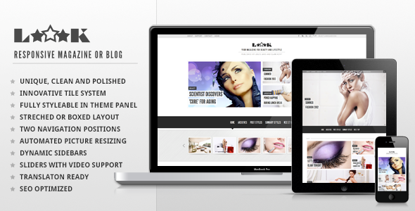 Loook - Responsive Magazine or Blog - Blog / Magazine WordPress