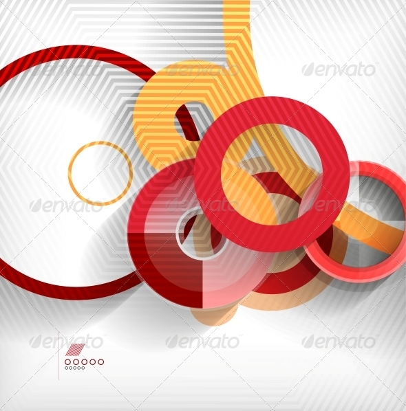 Geometric Shapes Abstract Background - Backgrounds Business