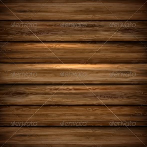 Illustrated Wood Parquet Texture. - Backgrounds Decorative