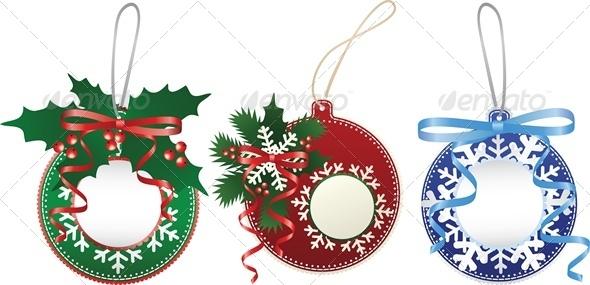 Christmas Paper Bauble Set - Christmas Seasons/Holidays