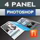 Corporate 4-Fold Brochure V11 - GraphicRiver Item for Sale