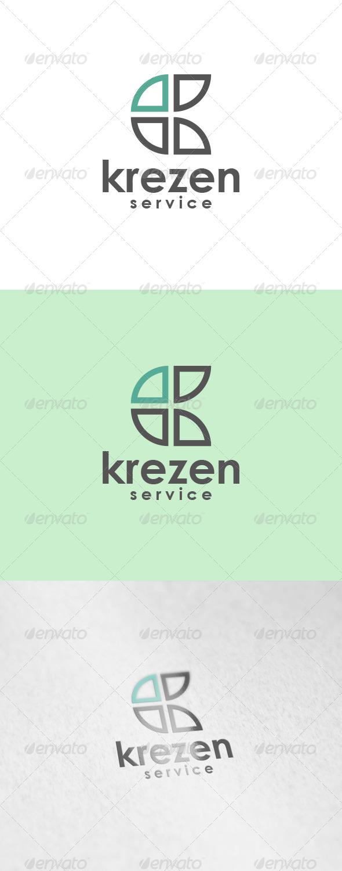 Krezen Logo - Letters Logo Templates