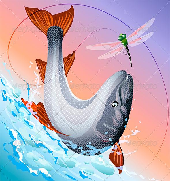 Redsalmon - Animals Characters