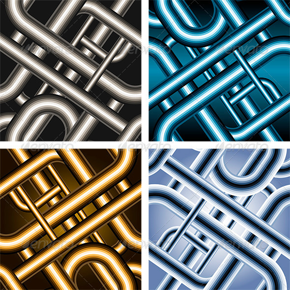 Seamless Pipe Pattern - Patterns Decorative