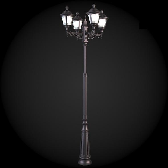 040_Street_Light - 3DOcean Item for Sale