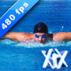 Swimming Butterfly Stroke - VideoHive Item for Sale