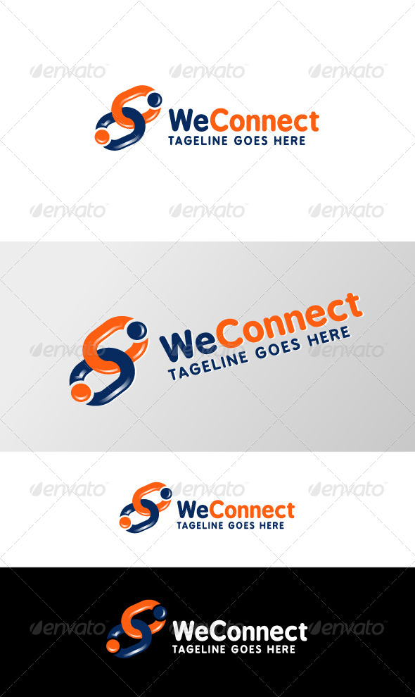 We Connect - Logo Templates