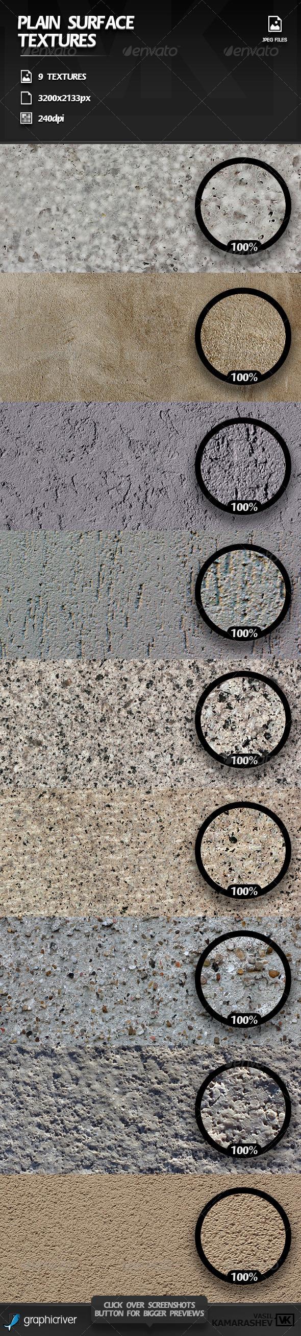 Plain Surface Textures - Concrete Textures