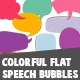 Colorful Flat Speech Bubbles - VideoHive Item for Sale