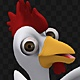 Cartoon Rooster-Chicken 3d Character Dancing - VideoHive Item for Sale