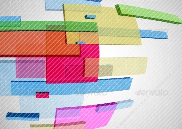 Abstract Rectangle Background - Abstract Conceptual