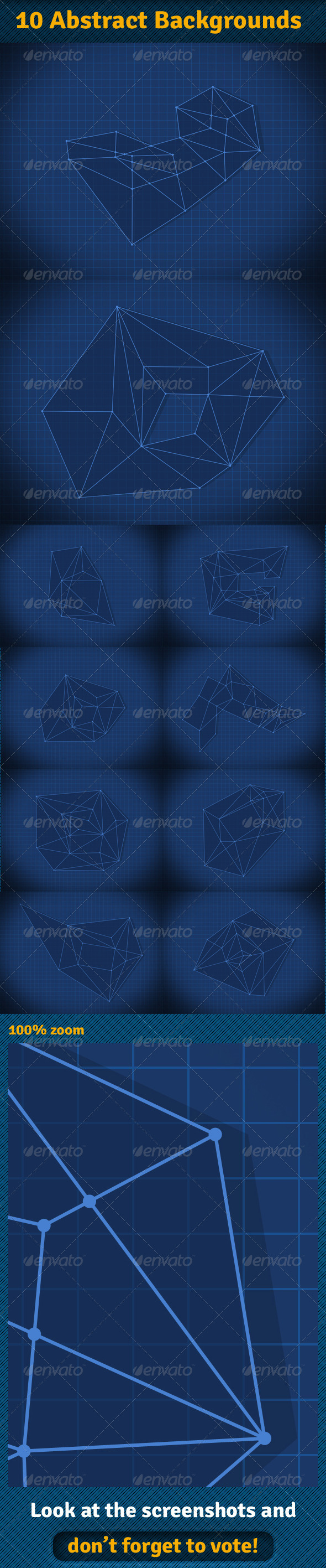 Abstract Backgrounds - Tech / Futuristic Backgrounds