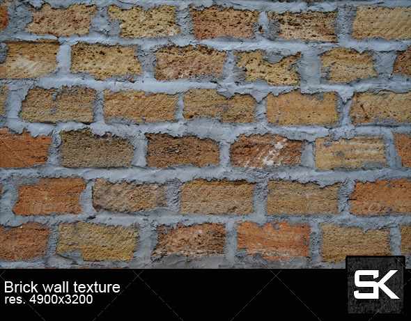 The Texture Of Brick Wall - Wood Textures
