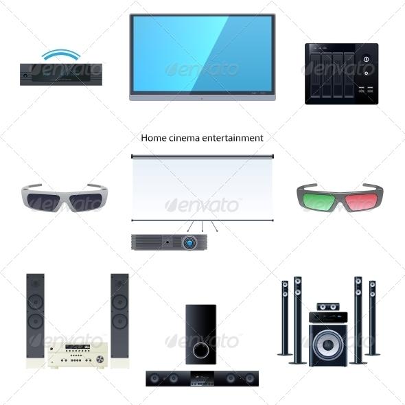 Home Cinema Entertainment Set - Computers Technology