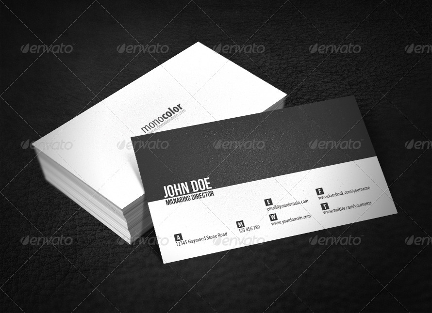 Minimal Business Card by glenngoh | GraphicRiver