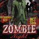 Zombie Night Flyer - GraphicRiver Item for Sale