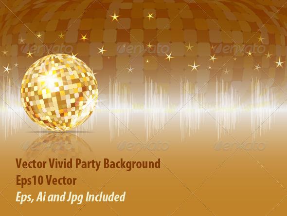 Party Background - Backgrounds Decorative