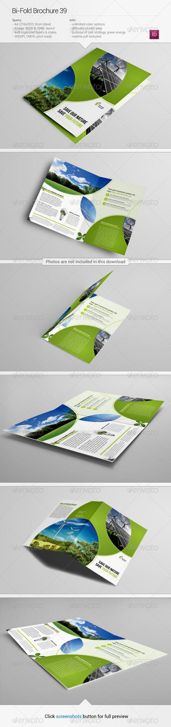 Bi-Fold Brochure 39 - Informational Brochures