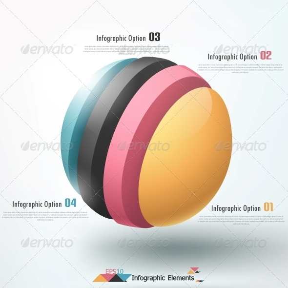 Modern Infographics Options Banner. - Infographics