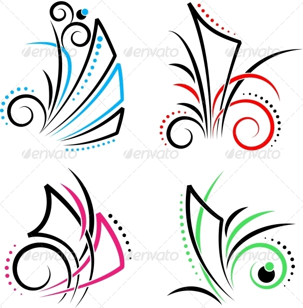 Swirl - Decorative Symbols Decorative