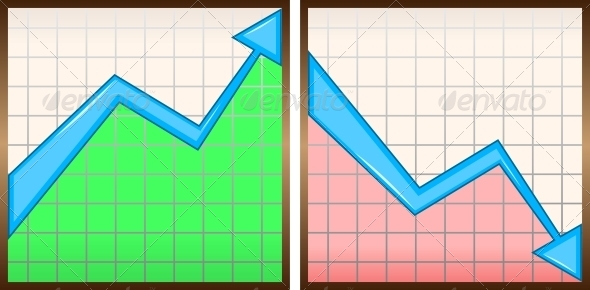 Charts - Backgrounds Business