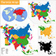Eurasia Map - GraphicRiver Item for Sale