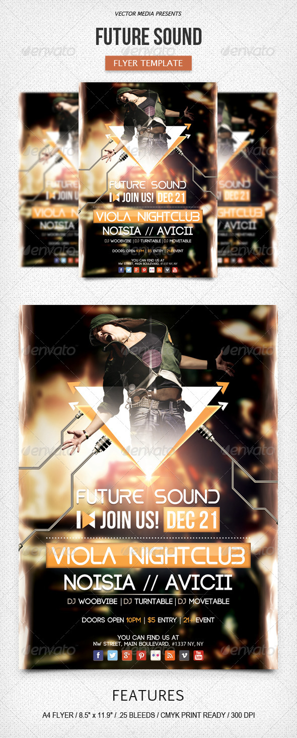 Future Sound - Flyer - Clubs & Parties Events