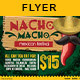 Mexican Macho Nacho | Flyer Template - GraphicRiver Item for Sale
